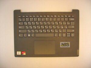 Клавиатура для ноутбука Lenovo IDEAPAD 320-14 320-14IKB + C cover с тачпадом RU темносерая