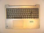 Клавиатура для ноутбука Б\У lenovo Ideapad S145-15 + C корпус RU\EN серебро