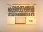 Клавиатура для ноутбука Lenovo YOGA 730-13IKB 730-13IS + C cover RU серебро с подсветкой без тачпада