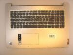 Клавиатура для ноутбука Б\У lenovo Ideapad 3 17ADA05 + C корпус RU\EN серебро