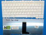 Клавиатура для ноутбука Toshiba A210/A200 White