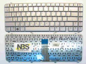 Клавиатура для ноутбука HP Pavilion DV5 серебро