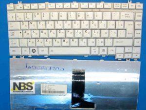 Клавиатура для ноутбука Toshiba A210/A200 RU Silver