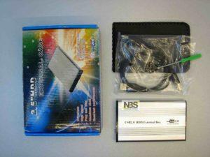 External Case 2.5 IDE USB2.0 Алюмин