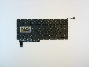 Клавиатура для ноутбука Mac Book Pro model:A1286 enter горизонтальный