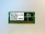 SO-DIMM DDR3 8Gb 12800/1600MHz GEIL 1.5v