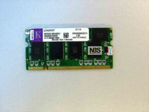 SO-DIMM DDR1 1GB 333MHz Kingstone