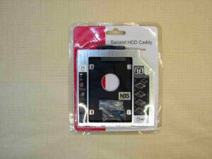 Second HDD Caddy SATA to HDD SATA DVD adapter 9.5mm