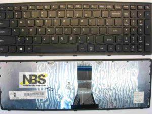 Клавиатура для ноутбука Lenovo  G500S G505S S500 S510 S510P Черная без подсветки
