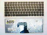 Клавиатура для ноутбука Lenovo U410 RU/EN рамка серебро
