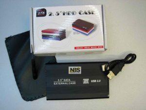 External Case 2.5 SATA USB3.0  6 Gbps  поддержка до 3Tb  S254U3