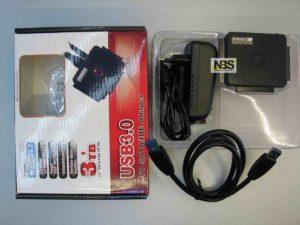 Cable USB3.0 to SATA/IDE Fideco model: S3G-PL03 Внешнее подключение жесткого диска
