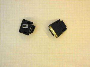 Переходник HDMI 19F - DVI 24+1 M