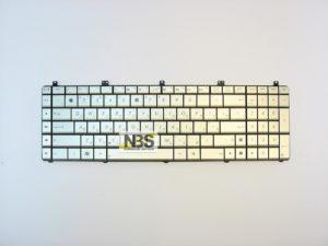 Клавиатура для ноутбука Asus N55 N75 RU  серебро