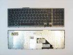 Клавиатура для ноутбука Sony VPCF1 с рамкой RU/EN