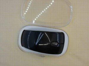 Мышь беспроводная складывающаяся черная USB
