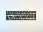 Клавиатура для ноутбука Lenovo B5400 RU/EN рамка серебро