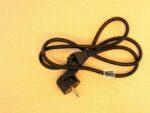 Power Cord 3pin  0.75mm( кабель питания)
