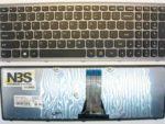 Клавиатура для ноутбука Lenovo S510 G500S рамка Серебро