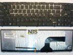 Клавиатура для ноутбука ASUS A53 EN 53S K52 K52D G72 G60 K53 K53S K53X N61 N61J с рамкой и подсветк