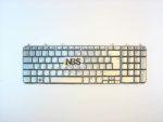 Клавиатура для ноутбука HP Pavilion DV7-1000 DV7-1100 DV7-1200 Series. Серебристая. Рус