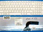 Клавиатура для ноутбука ASUS K52 Ru/EN A52 K52D G72 G60 K53 K53S K53X N61 N61J с рамкой