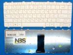 Клавиатура для ноутбука Lenovo Y550 Y560 Y450 Y460 RU белая p/n:25-009758