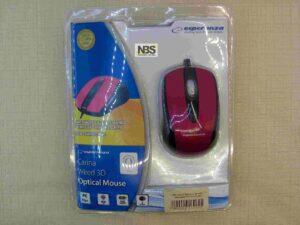 Мышь Esperanza EM115R проводная оптическая USB