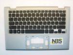 Клавиатура для ноутбука Dell Inspiron 11 RU 3147 3148 + C корпус без Tuch серебро