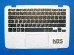 Клавиатура для ноутбука Dell Inspiron 11 RU 3162 + C корпус с Tuch белая