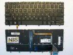 Клавиатура для ноутбука Dell Inspirion 13-7000 Series EN с подсвет Enter flat