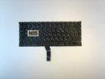 Клавиатура для ноутбука Mac Air A1369 (2011) A1466 (2012-2015) MJVE2LL/ enter горизонт EN/RU