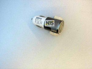 "USB Car Charger adapter  ""NOKOKO"" модель: KO-20 Input: DC12-V to 5V/2.1A  1USB"