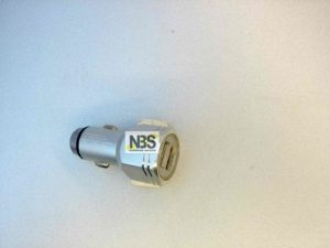 "USB Car Charger adapter  ""Болт""  модель:KO-31 Input: DC12-24V to 5V/2.1A  2USB"