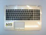 Клавиатура для ноутбука Asus X540S+C корпус золотистый RU/EN