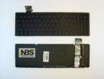 Клавиатура для ноутбука Asus Rog GL552 с подсветкой RU Enter горизонтальный