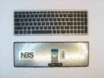 Клавиатура для ноутбука Lenovo Z710 RU рамка серебро