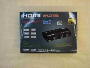 Сплиттер HDMI splitter 1x2 (3D 4K UHD 3840x2160)