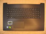 Клавиатура для ноутбука Б\У lenovo Ideapad 320-17IKB + C корпус RU\EN темносерая