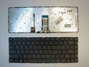 Клавиатура для ноутбука Lenovo YOGA 500-14IHW Flex 2-14 Enter flat с подсветкой EN