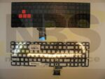 Клавиатура для ноутбука Asus Rog GL502V с подсветкой EN Enter горизонтальный