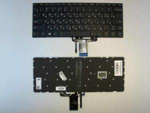 Клавиатура для ноутбука Lenovo YOGA 710-15ikb 710-14isk черная Enter flat с подсветкой RU