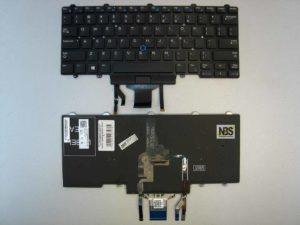 Клавиатура для ноутбука Dell Latitude E7450/E7470/E5470 entr горизонт