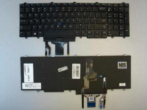 Клавиатура для ноутбука Dell Latitude 5580/E5550 entr горизонт