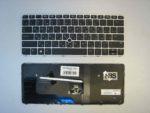 Клавиатура для ноутбука HP Elitebook 725 G3 RU рамка серебро