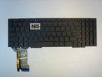 Клавиатура для ноутбука Asus  GL753V Enter -flat подсветка красная  EN