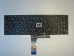 Клавиатура для ноутбука MSI MS-16J9 LED, Enter Flat white font, EN