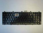 Клавиатура для ноутбука MSI MS-1761 RU с подсветкой Б.У.
