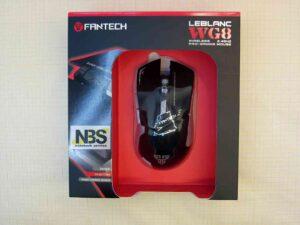 Мышь игровая Fantech Leblanc WG8 Высокоточный игровой оптический сенсор Avago Интерфейс: 2.4 ГГц