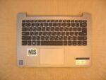 Клавиатура для ноутбука Б\У Lenovo Ideapad 330s-14IKBN  + C корпус RU\EN серебро